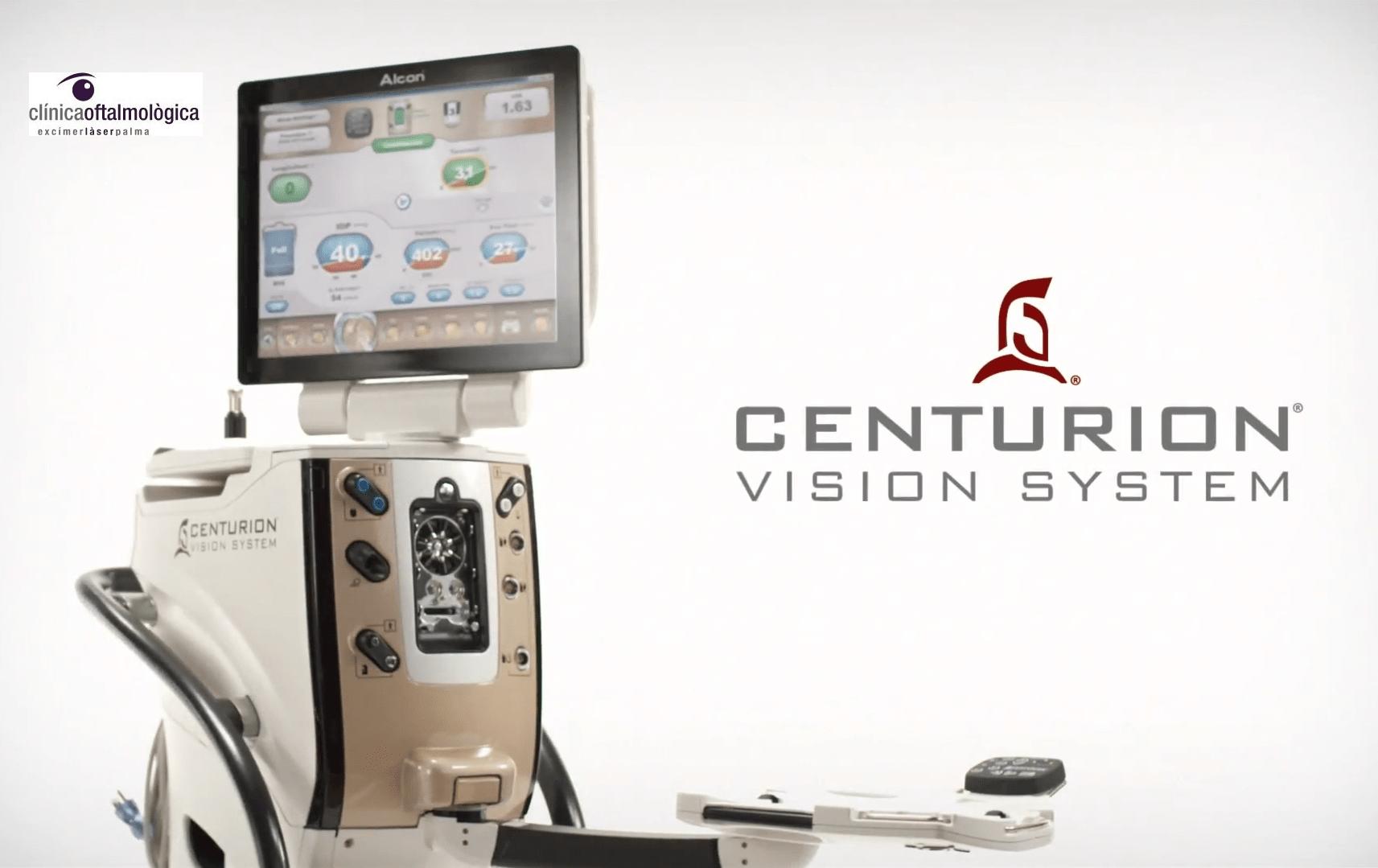 Centurion Vision System Excimer Laser Palma