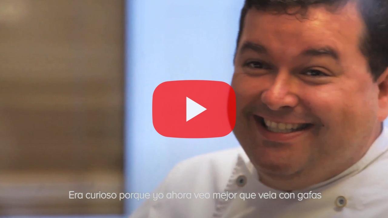 Testimonio del Chef Marcos Morán - Implante de lentes intraoculares Visian ICL